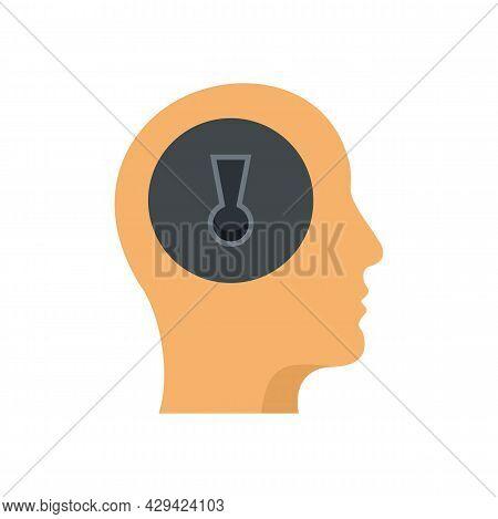 Mind Skills Icon. Flat Illustration Of Mind Skills Vector Icon Isolated On White Background