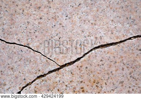 Crack In Marble Tiles, Marble Texture. Stone, Marble