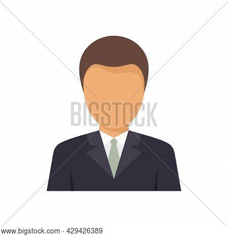 Businessman Mission Icon. Flat Illustration Of Businessman Mission Vector Icon Isolated On White Bac