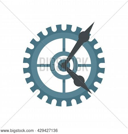Parts Watch Repair Icon. Flat Illustration Of Parts Watch Repair Vector Icon Isolated On White Backg