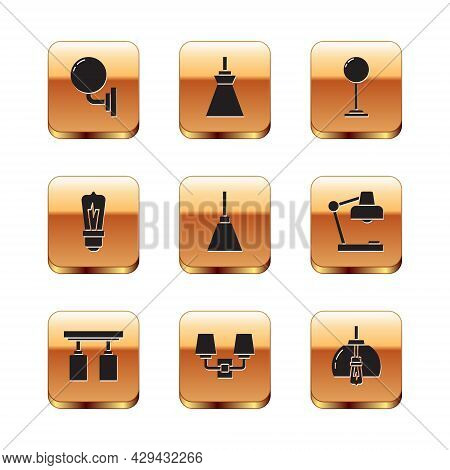 Set Wall Lamp Or Sconce, Led Track Lights And Lamps, Chandelier, Light Bulb, Floor, And Lamp Hanging