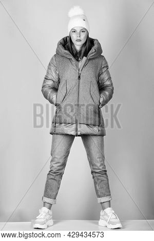 Look Fashionable. Aesthetically Pleasing Style. Inspiring Wardrobe. Purposeful Layering Is Perfect W