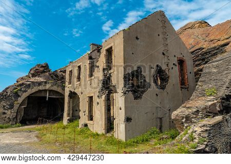 House Shot At The Fort Des Capucins A Rocky Islet Located In The Atlantic Ocean At The Foot Of The C