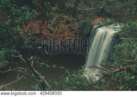 Dangar Falls Waterfall In Dorrigo, Nsw, Australia.