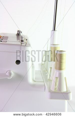 Side Of Sewing Machine