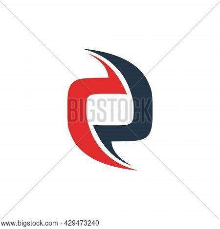Initial Letter O Logo Design Technology Concept. O Vector. O Icon