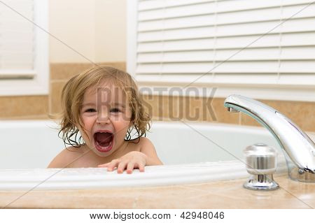 Happy To Be In The Bath Tub