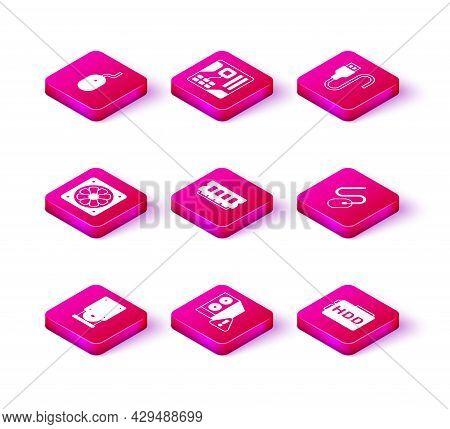 Set Optical Disc Drive, Case Of Computer, Computer Cooler, Ram, Random Access Memory, Hard Disk Hdd,