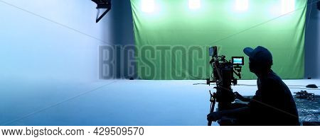 Video Production Behind The Scenes. Making Of Tv Commercial Movie