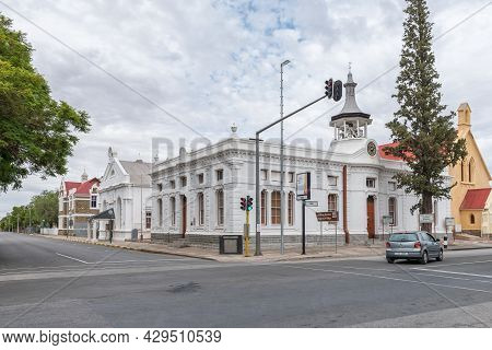 Beaufort West, South Africa - April 2, 2021: The Museum And Dr Chris Barnard Exhibition In The Histo
