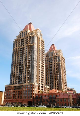 Two High Rise Building