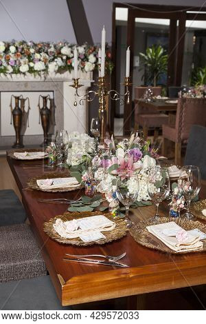 Decoration For An Event Party Or Wedding Reception.