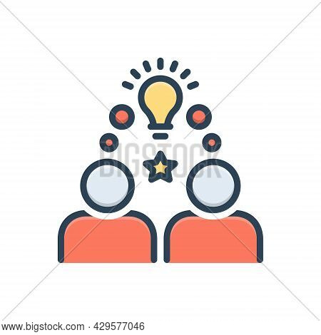Color Illustration Icon For Onboarding Integration Infographic Integration Employee Workforce Idea