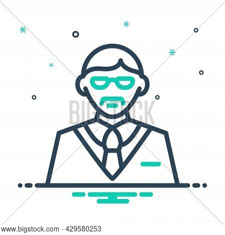 Mix Icon For Manager Proprietor Steward Director Warden Administrator Boss Controller Executive Supe