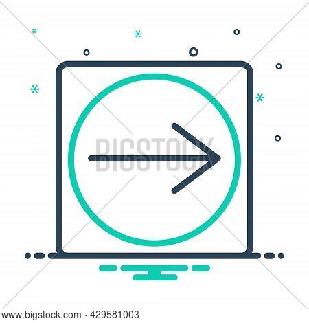 Mix Icon For Implication Conclusion Connotation Indication Meaning Ramification Significance Referen