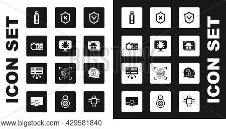 Set Shield With Wifi Wireless, System Bug, Firewall, Security Wall, Usb Flash Drive, Browser Incogni