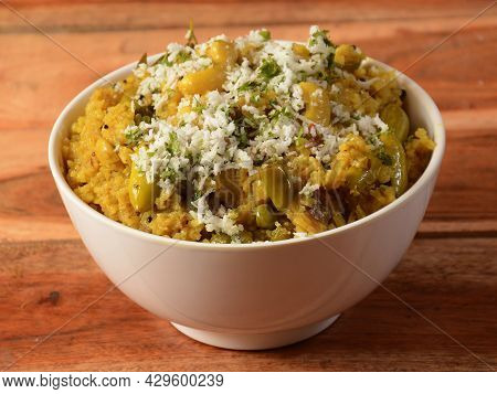 Masala Rice Or Masale Bhat - Is A Spicy Vegetable Fried Rice / Biryani Or Pulav Usually Made During