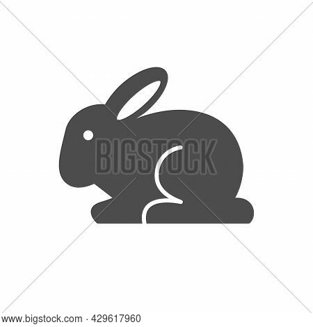 Not Tested On Animals Or Cruelty Free Icon Isolated On White
