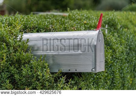 Metal Mailboxes For Mailings To The Home Address - Postman