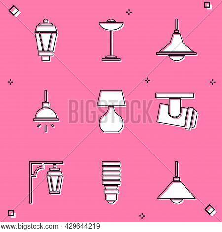 Set Garden Light Lamp, Floor, Chandelier, Table, Led Track Lights Lamps, Vintage Street And Led Bulb