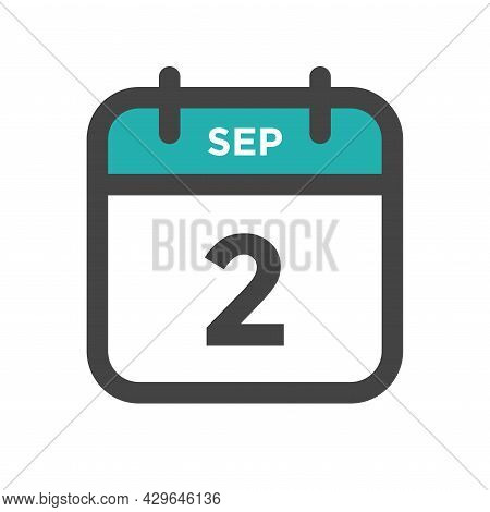 September 2 Calendar Day Or Calender Date For Deadline And Appointment