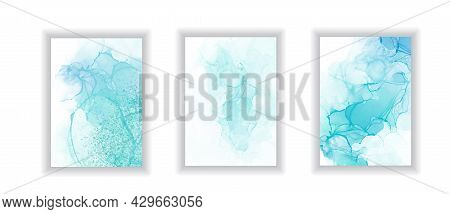 Abstract Watercolor Marble Painting, Modern Liquid Background, Trendy Wall Gradient Poster, Abstract
