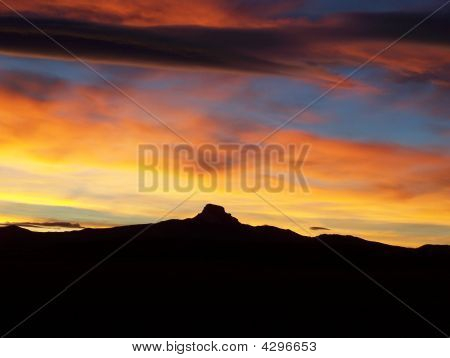 Heart Mountain Sunset