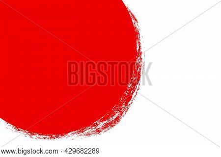 Background - Crayon - Red And White 01 02A