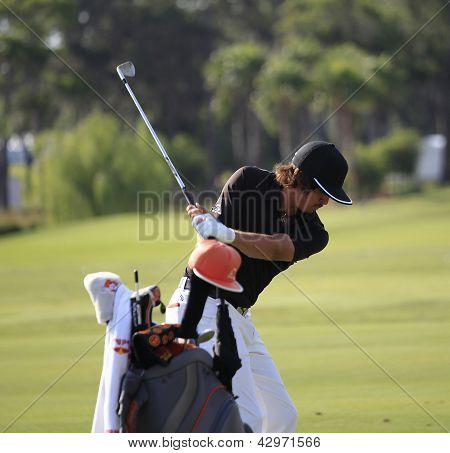 Rickie Fowler at The Players Championship 2012
