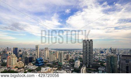 Metropolitan Bangkok City Downtown Cityscape Urban Skyline  Thailand - Cityscape Bangkok City Thaila
