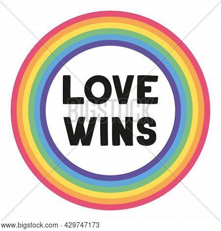 Pride Sticker, Great Design For Any Purposes