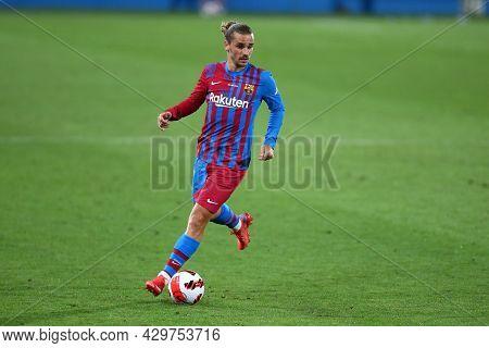 Barcelona, Spain. 08th August 2021 . Antoine Griezmann Of Fc Barcelona  During The Pre-season Friend