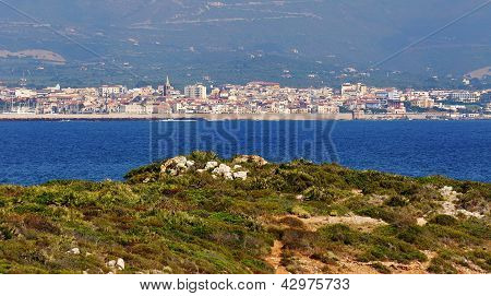 View Of Alghero, Sardinia, Italy