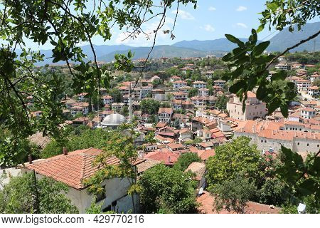 Traditional Ottoman Houses In Safranbolu Is District Of Karabuk Province In The Black Sea Region Of