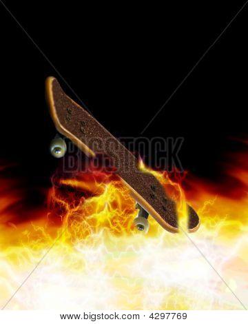 Skateboarding Sizzles