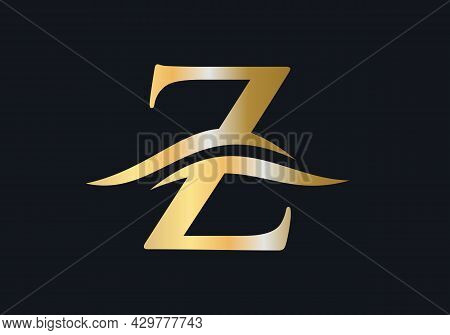 Z Logo Design For Business And Company Identity. Creative Z Letter With Luxury Concept