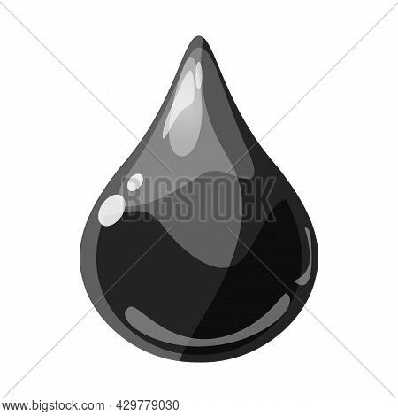 Drop Dark Shiny Glossy Colorful Game Asset. Oil, Aqua, Jelly, Crystal, Glass Drip, Bubble Shot Eleme