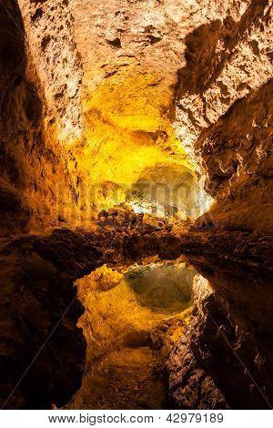 Cueva de los Verdes in Lanzarote