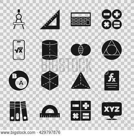 Set Xyz Coordinate System, Function Mathematical Symbol, Triangle, Calculator, Geometric Figure, Squ