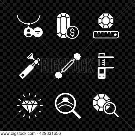 Set Locket On Necklace, Jewelry Online Shopping, Gem Stone, Diamond, Engagement Ring, Jewelers Lupe