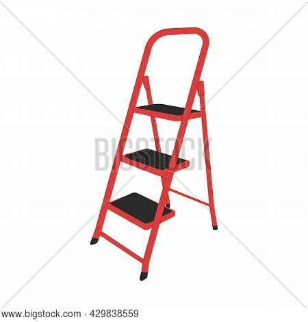 Red, Staircase,stepladder,repairing, House,apartment, Housekeeping, Gardening, Archive, Storage, Roo