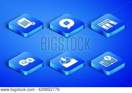 Set Interesting Facts, File Document Service, Download Inbox, Question And Answer, Hashtag Speech Bu