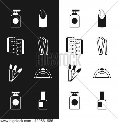 Set Nail Cutter, Toe Separator For Pedicure, Tube Of Hand Cream, Broken Nail, False Nails, Manicure