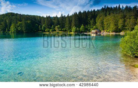 Fusine Lower Lake