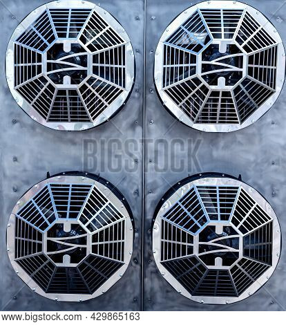 Metal Industrial Air Conditioning Vents Hvac Ventilation Fan