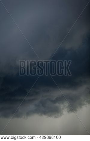 Dark And Dramatic Storm Clouds. Mystique. Heaven