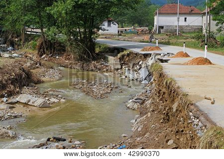 River After Flooding