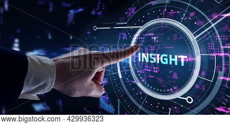 Insight Inscription, Successful Business Concept. Business, Technology, Internet And Network Concept