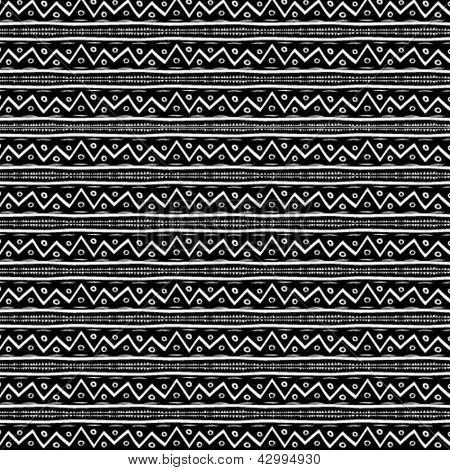 Zig zag vector pattern