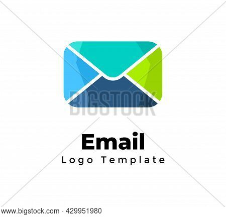 Creative Vector Email Logo Template. Marketing Communication. Abstract Mailing Sign. Modern Minimali